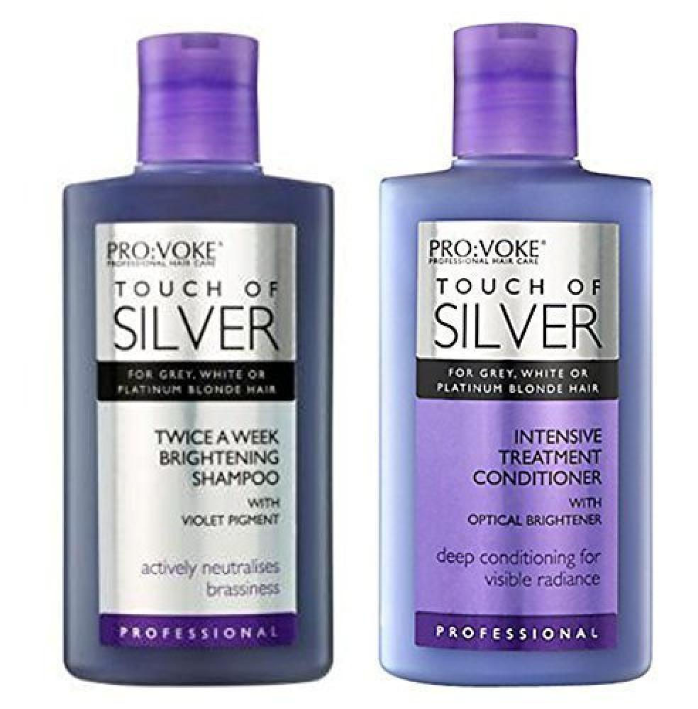Touch Of Silver Brightening Shampoo and Intensive Conditioner 2x150ml