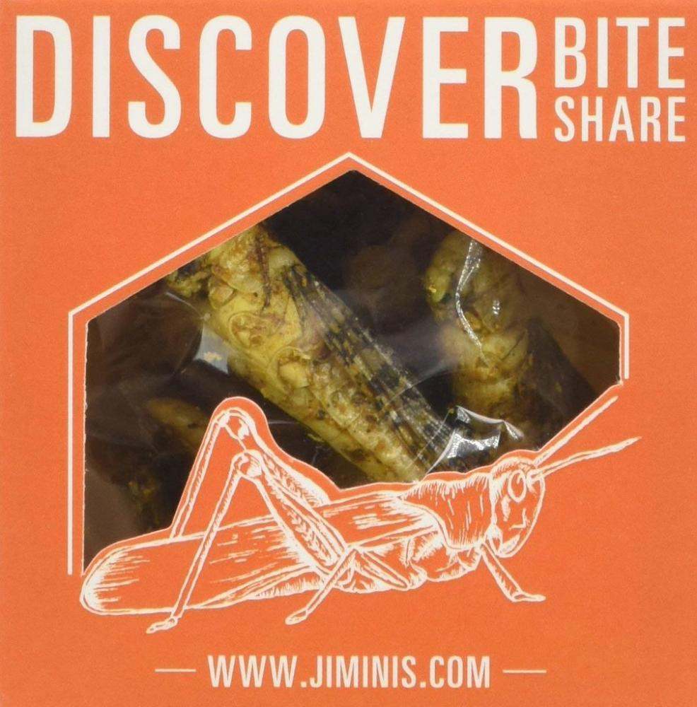 Jiminis Fruity Curry Grasshoppers 10g