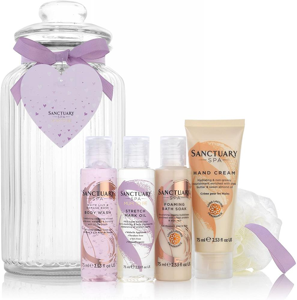 Sanctuary Spa Spa Baby Shower Gift Set No jar