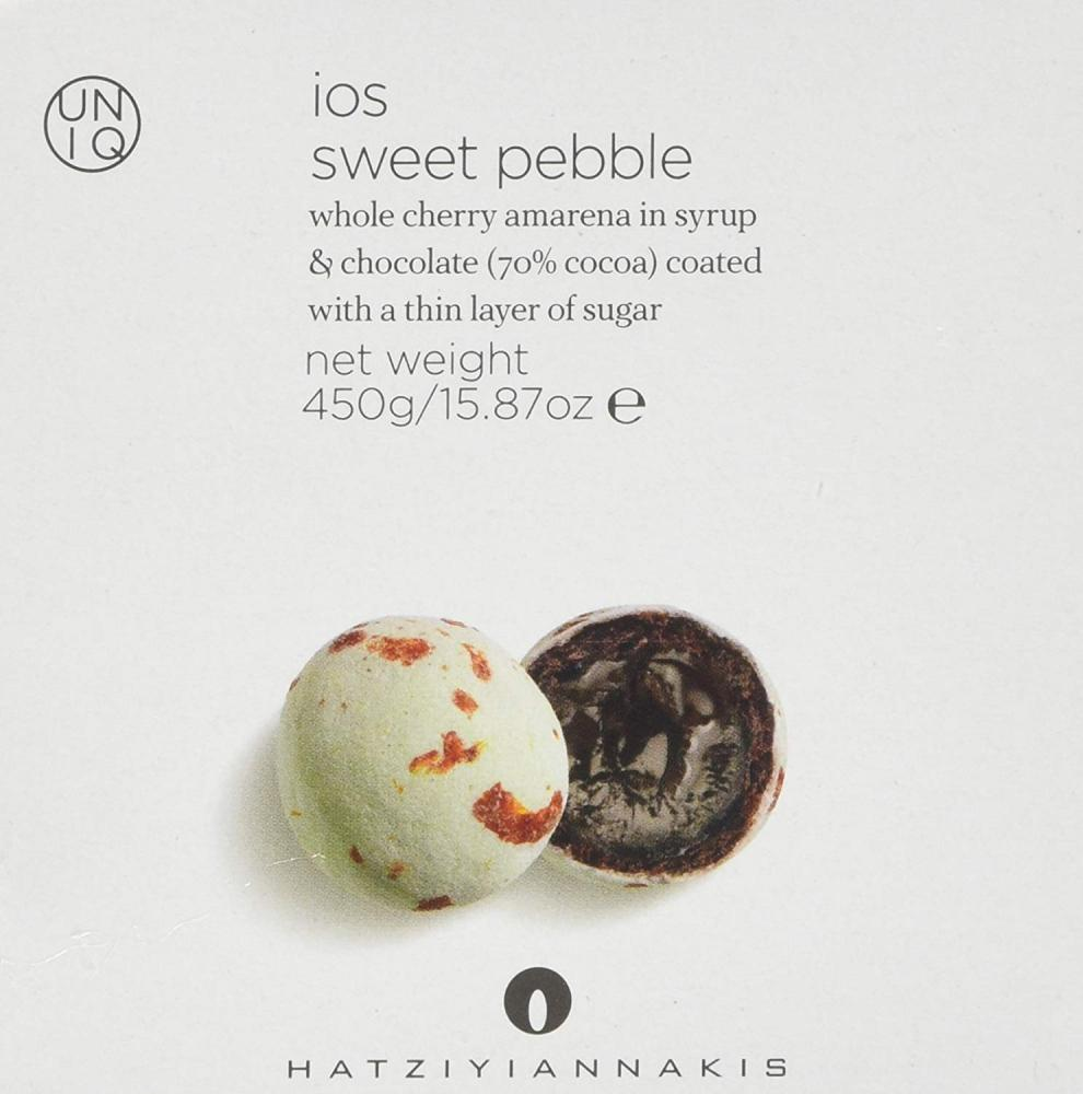Hatziyiannakis Sweet Chocolate Pebbles Box 450 g