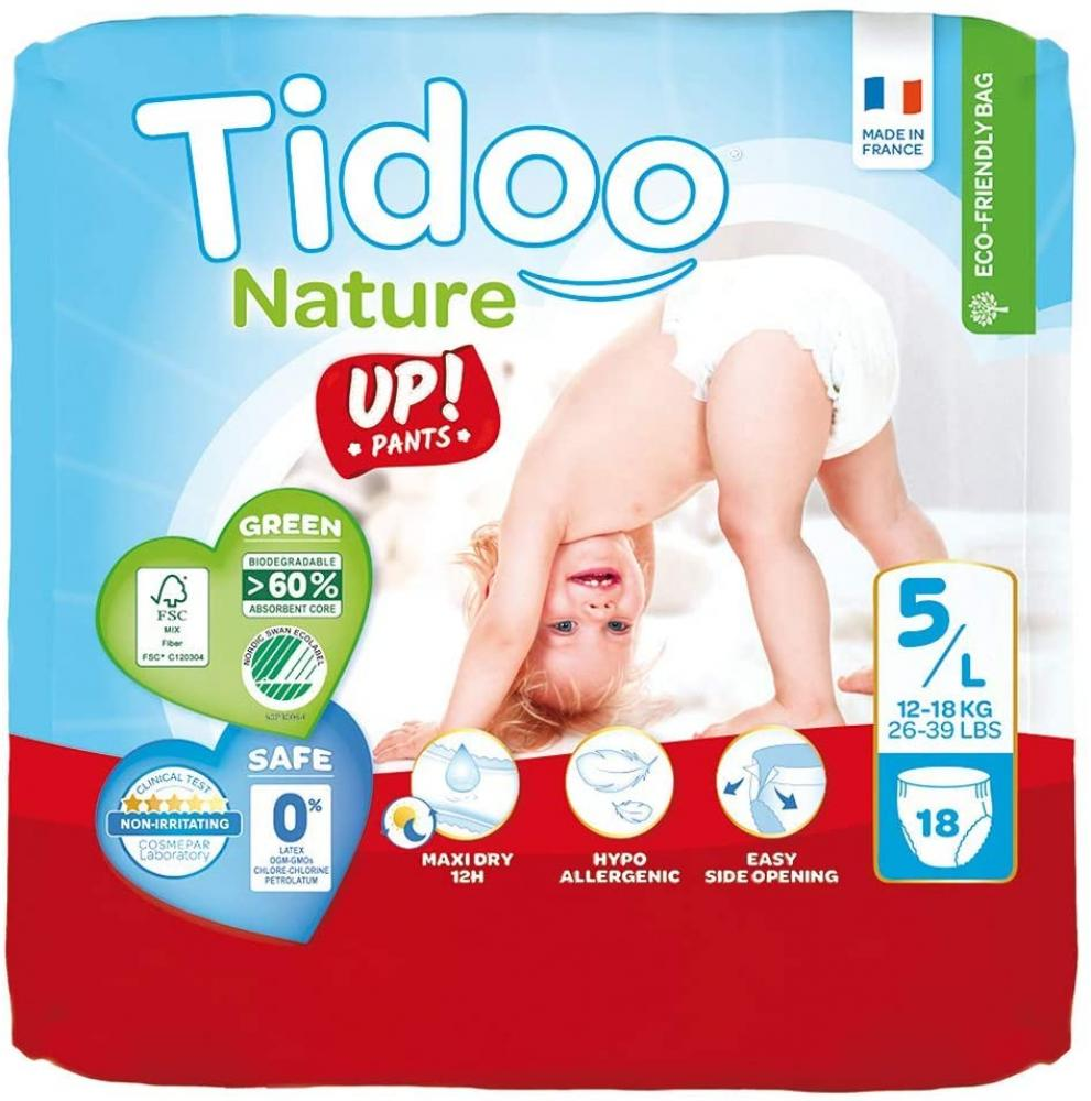 Tidoo Tidoo Disposable Baby Training 18 Pants Size 5