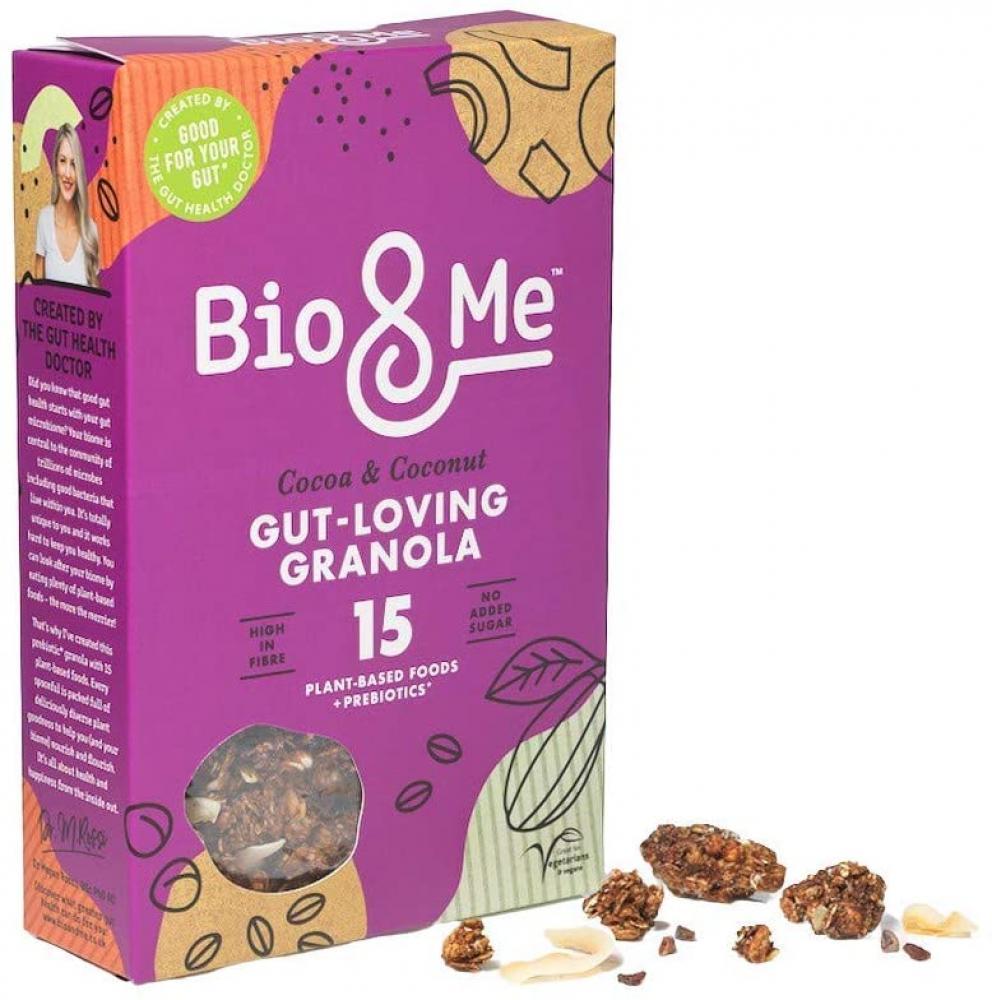 Bio and Me Cocoa and Coconut Gut Loving Granola 360g