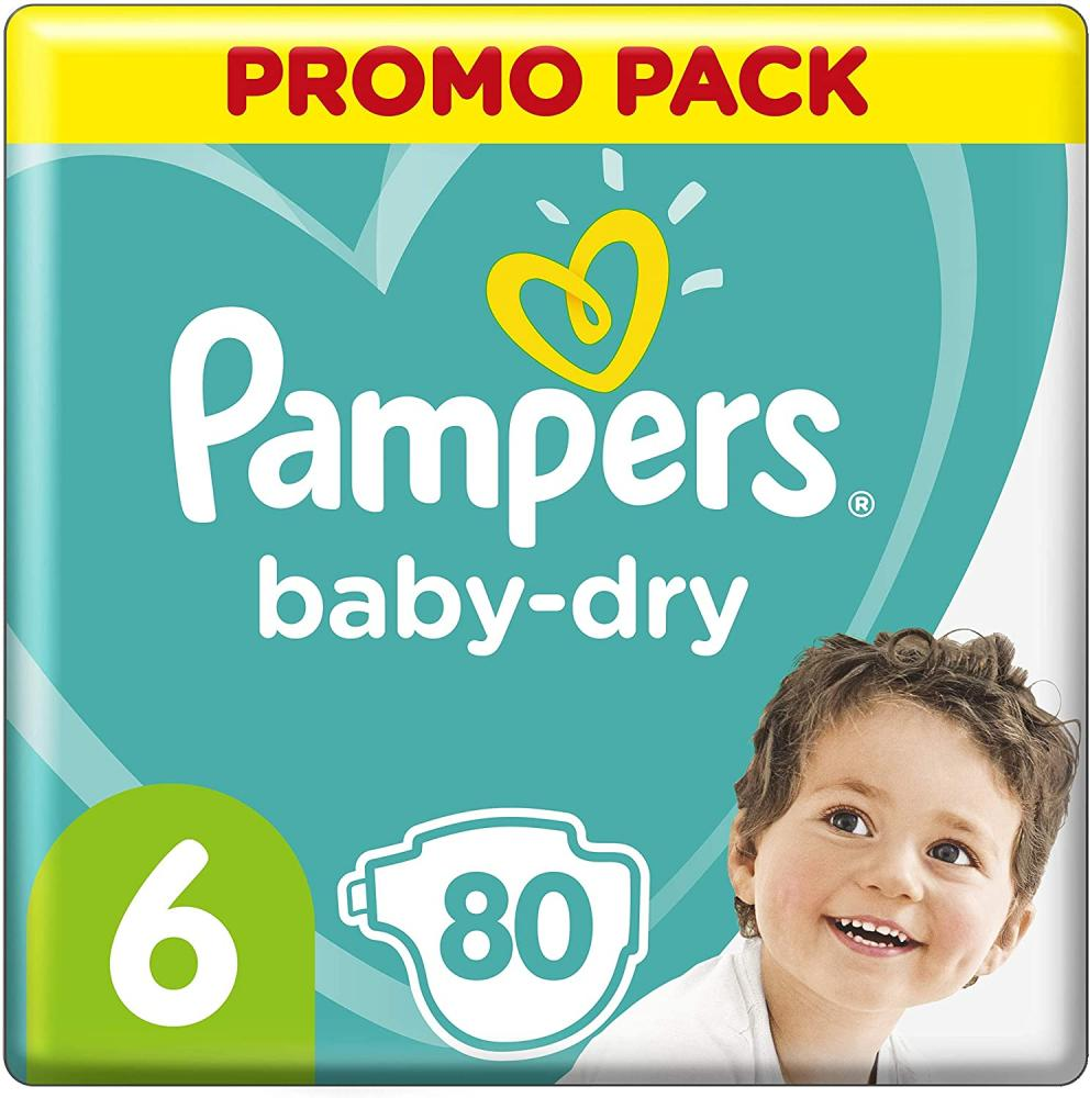 Pampers Baby-Dry Pants Nappies Size 6 13-18kg 20 nappies