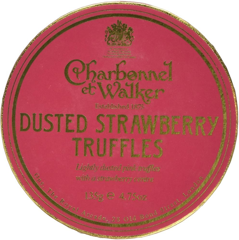 Charbonnel Et Walker Strawberry Truffles 135g