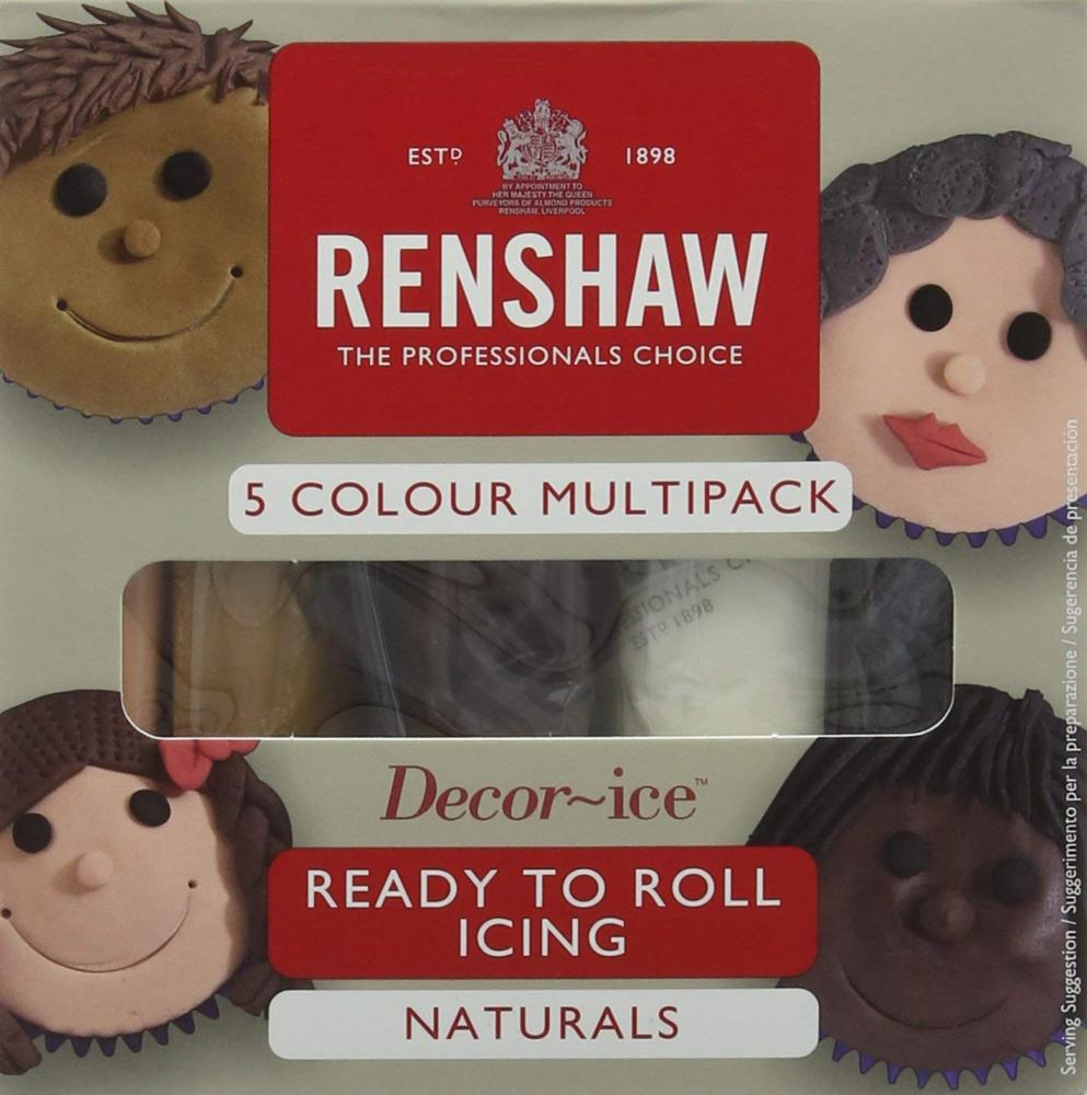Renshaw Ready to Roll Icing 5 Colours 500g