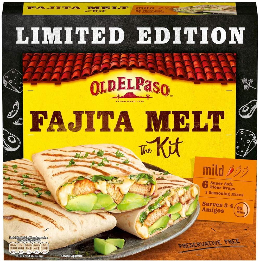 Old El Paso Mexican Fajita Melt Kit 385 g