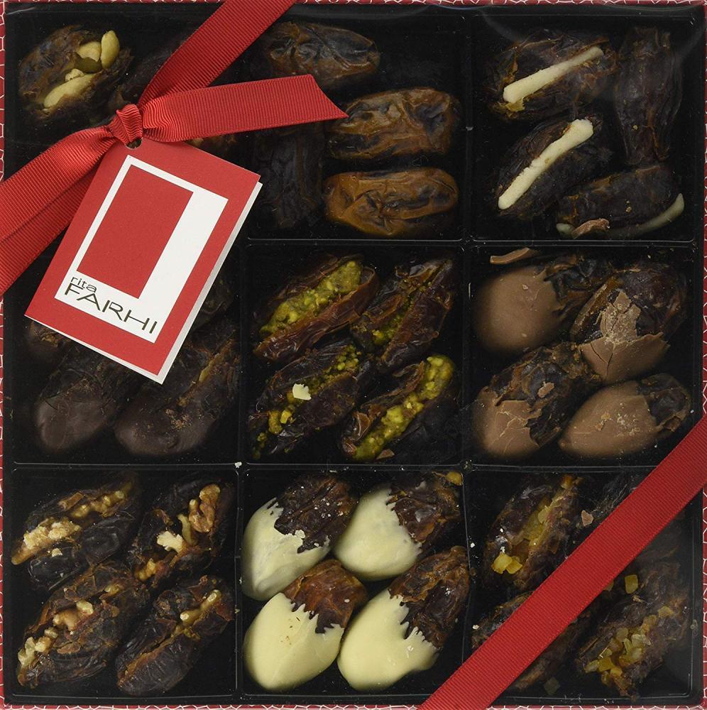 Rita Farhi Belgian Chocolate and Stuffed Medjool Dates 720g