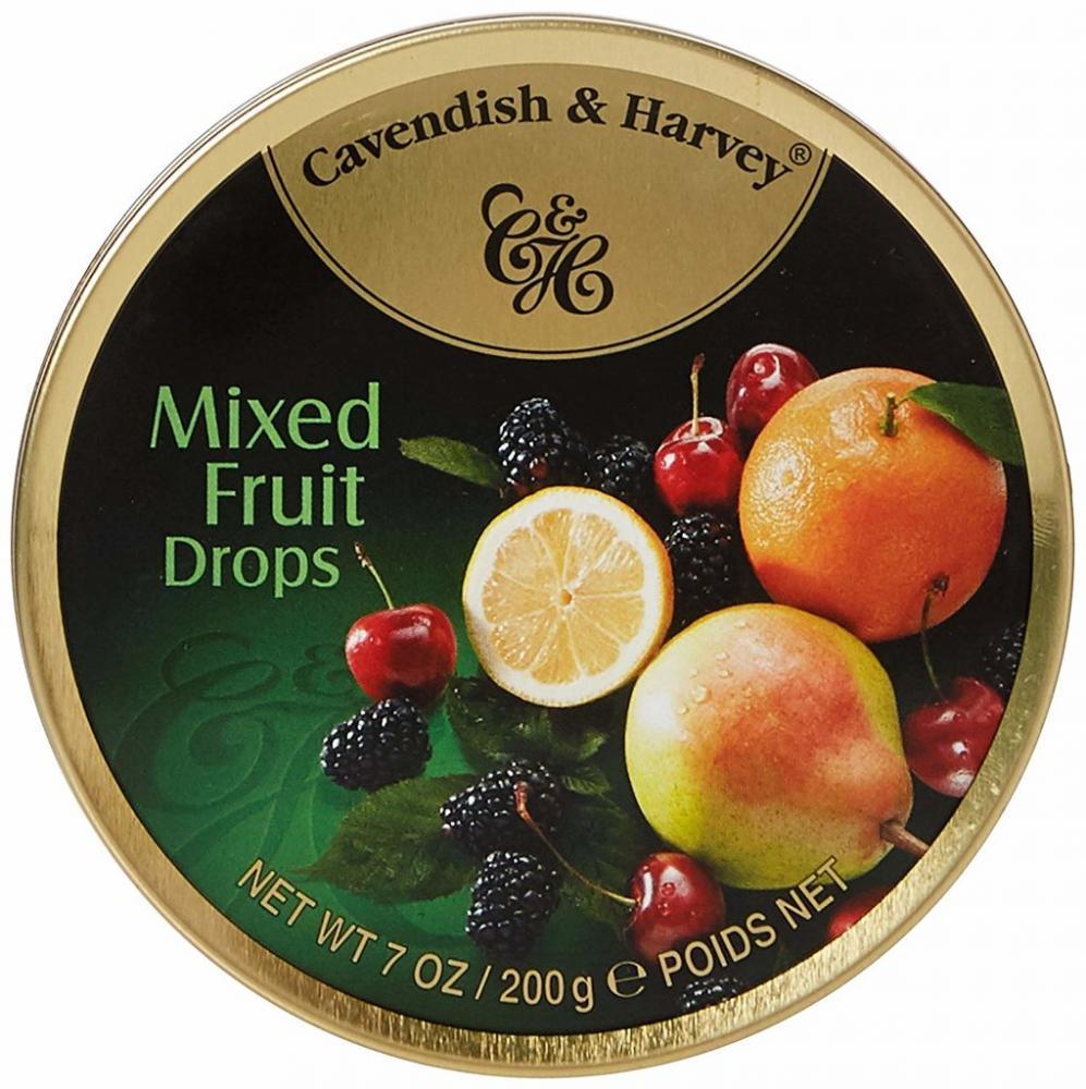 Cavendish and Harvey Mixed Fruit Drops 200g