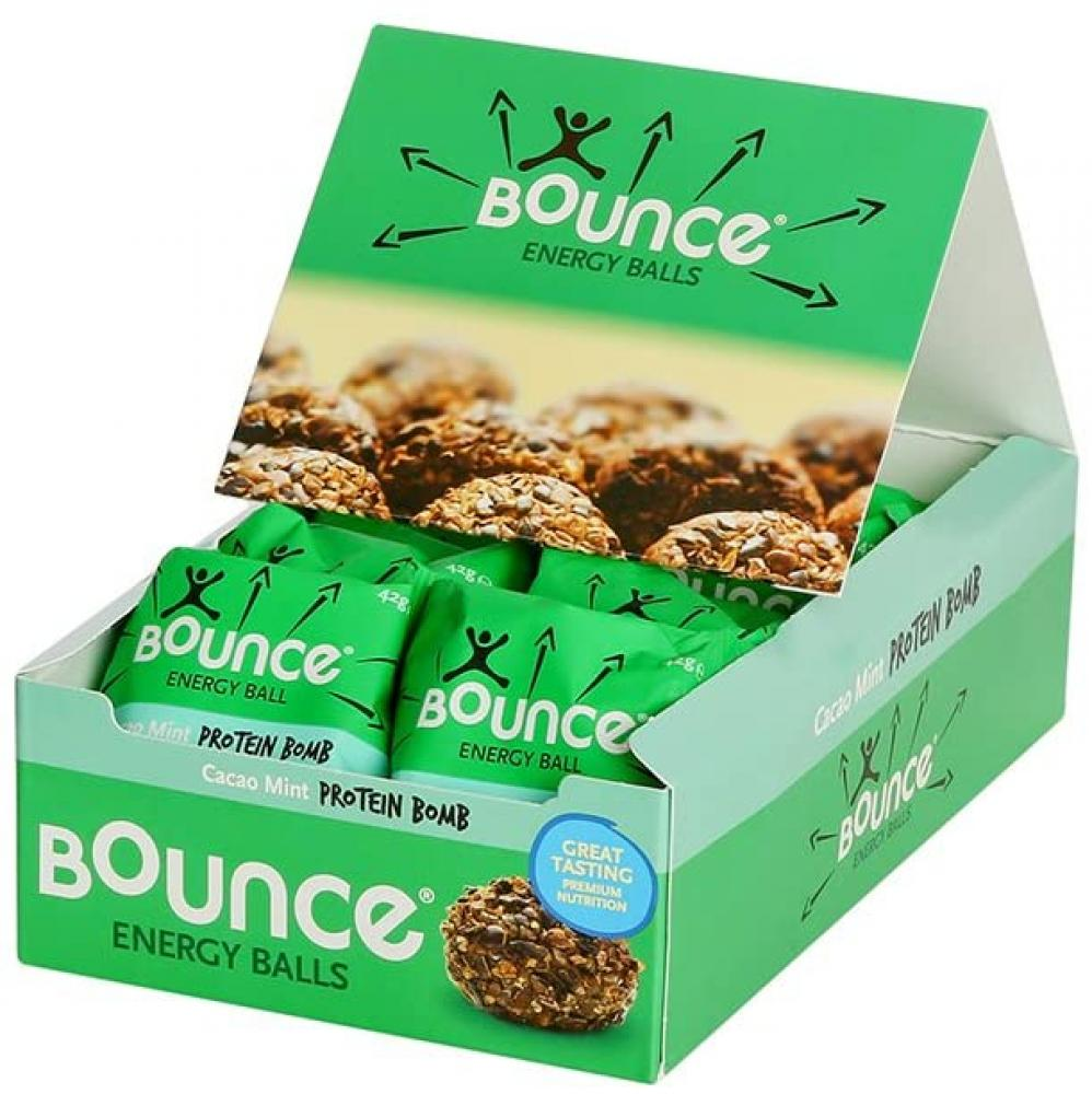 Bounce Cacao Mint Protein Energy Ball 12 x 42g