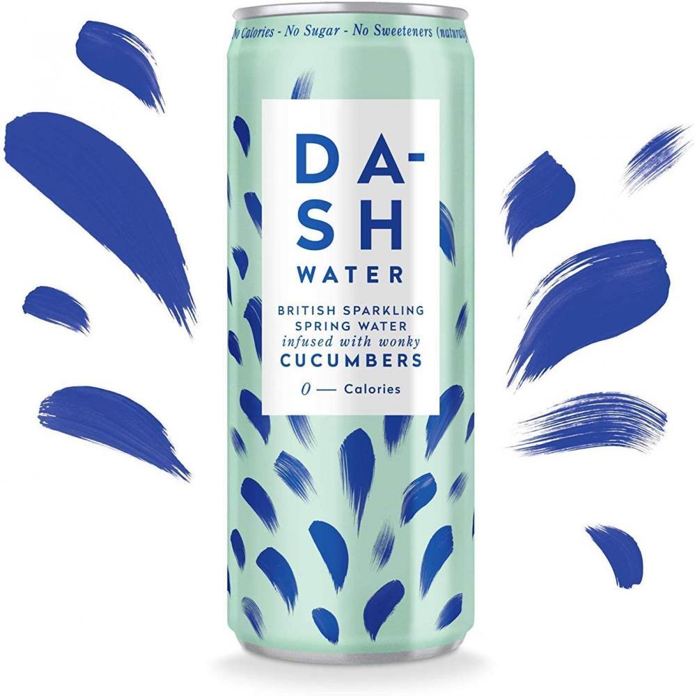 Dash Water Sparkling Cucumber Flavour 330ml