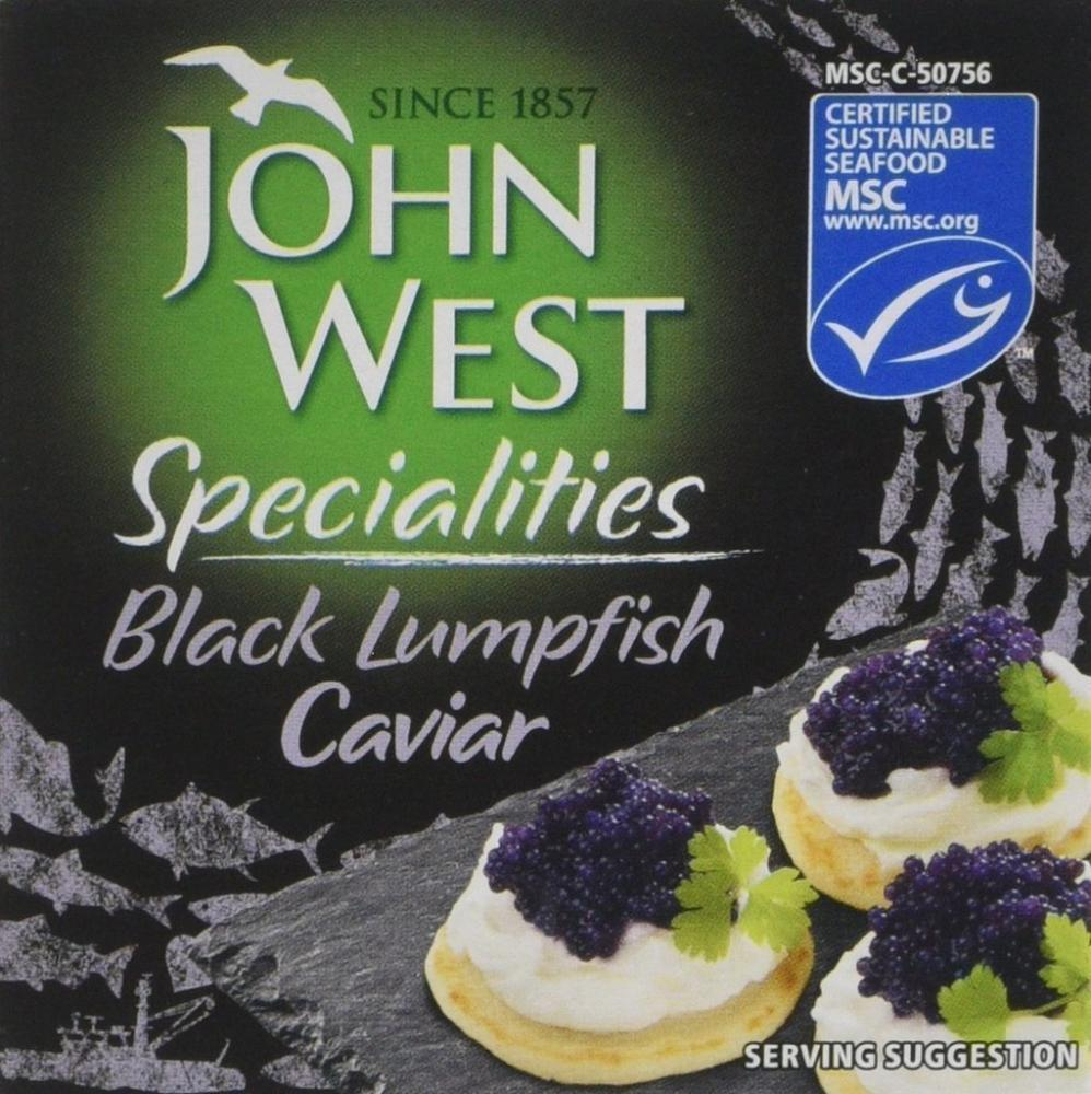 John West Specialities Black Lumpfish Caviar 50g