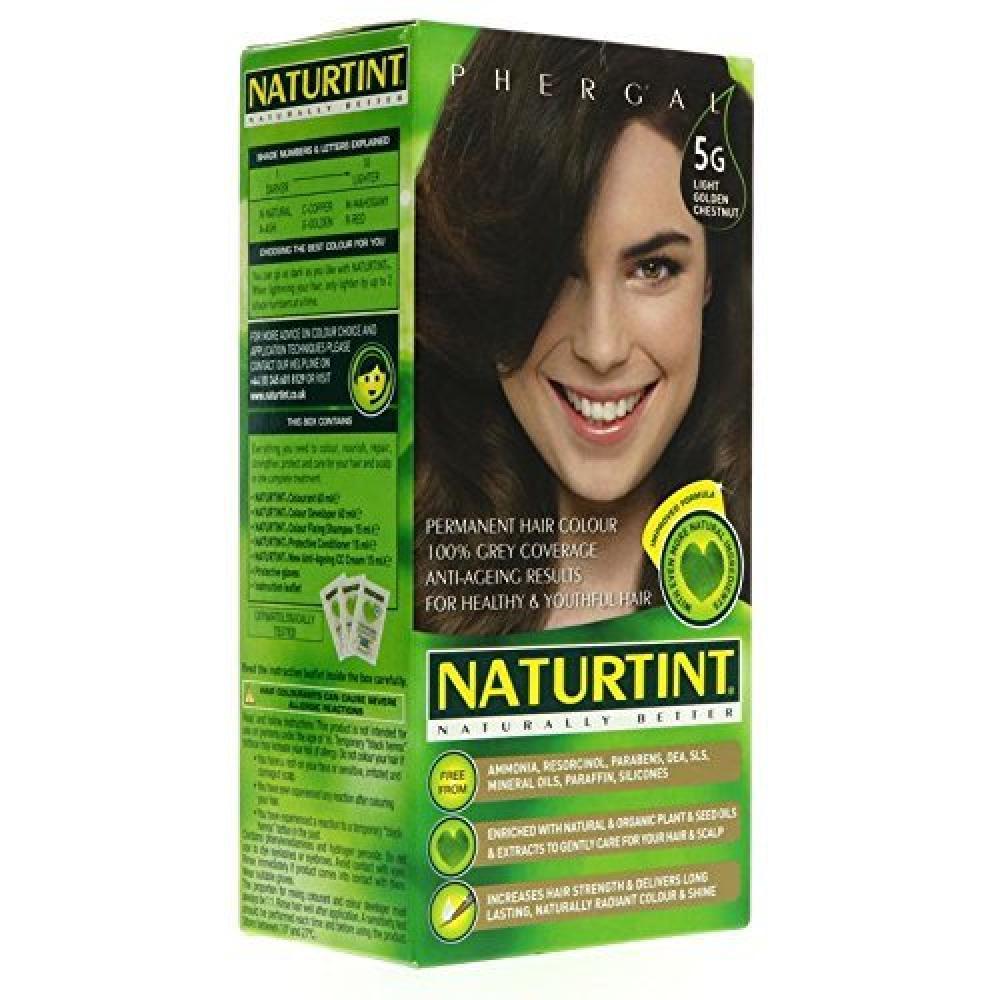 Naturtint Permanent 5G Light Golden Chestnut 165 ml
