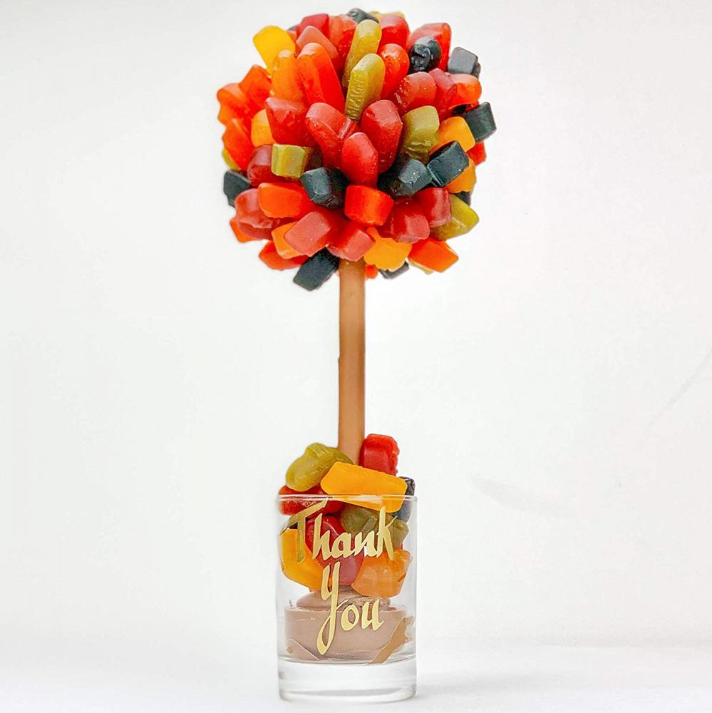 Sweet Trees Wine Gum Personalised Sweet Tree Thank You 25cm